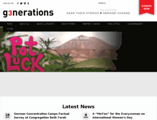 threegenerations.org screenshot