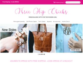 threehipchicks.com screenshot