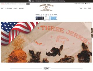 threejerksjerky.com screenshot