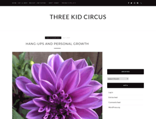 threekidcircus.com screenshot
