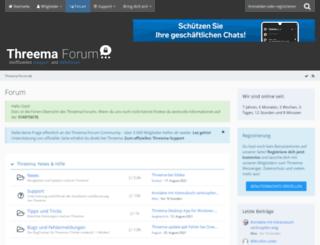 threema-forum.de screenshot