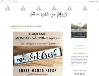 threemangoseeds.blogspot.co.uk screenshot
