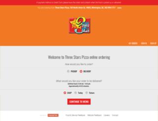 threestars-elsmere.foodtecsolutions.com screenshot