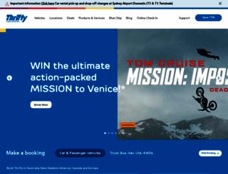 thrifty.com.au screenshot