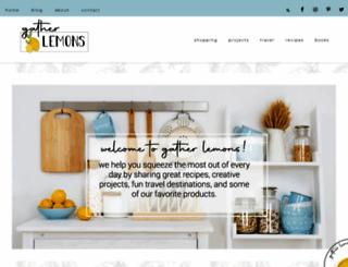 thriftyandthriving.com screenshot
