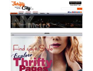 thriftycity.dci.in screenshot