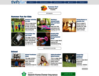 thriftyfun.com screenshot