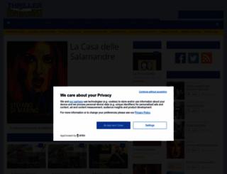 thrillermagazine.it screenshot