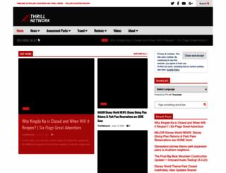 thrillnetwork.com screenshot