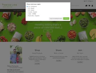 thrive.thrivelife.com screenshot
