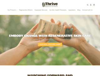 thrivecare.co screenshot