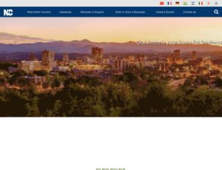 thrivenc.com screenshot