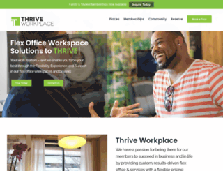thriveworkplace.com screenshot