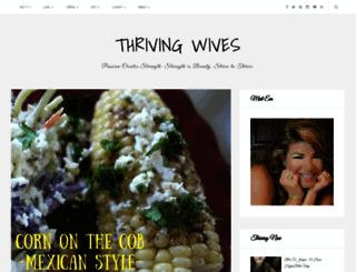 thriving-wives.com screenshot