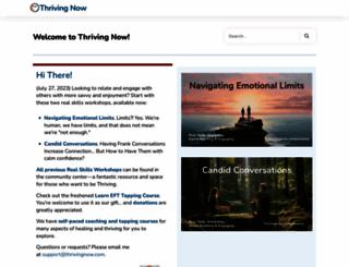 thrivingnow.com screenshot