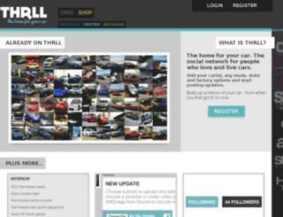 thrll.com screenshot