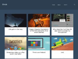 throk.com screenshot