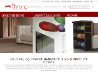 throneusa.com screenshot