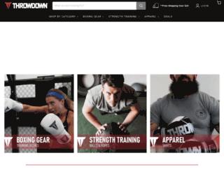 throwdown.com screenshot