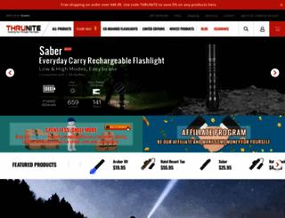 thrunite.com screenshot