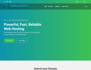 thrusthost.com screenshot
