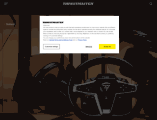 thrustmaster.com screenshot