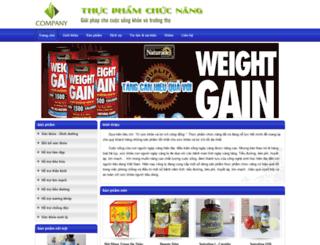thucphamchucnang.dos.vn screenshot