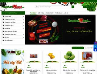 thucphamnhanh.com screenshot