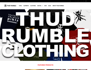 thudrumble.com screenshot
