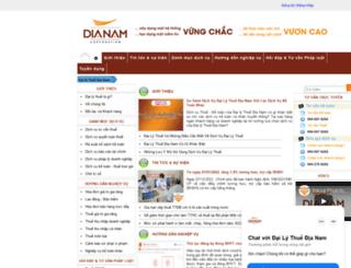 thue.dianam.vn screenshot