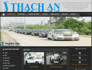 thuexehanoi.com screenshot