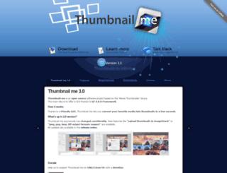 thumbnailme.com screenshot