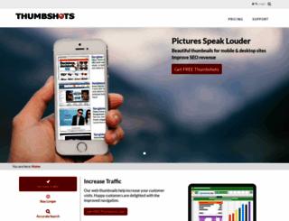 thumbshots.com screenshot