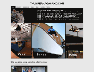 thumpernagasako.com screenshot