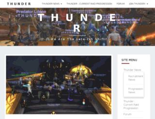 thunder-guild.net screenshot