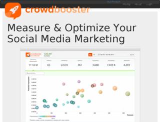 thunder.crowdbooster.com screenshot