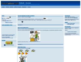 thunder.forumattivo.com screenshot