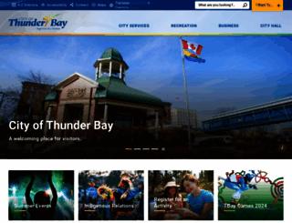 thunderbay.ca screenshot