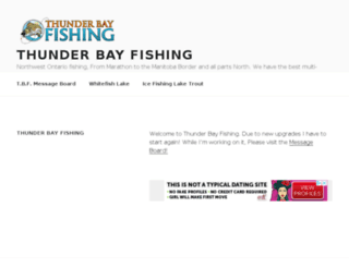thunderbayfishing.com screenshot