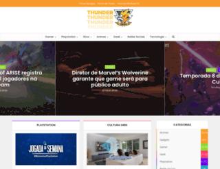 thundercheats.com.br screenshot