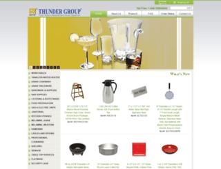 thundergroup.com screenshot
