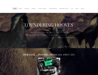 thunderinghooves.com screenshot