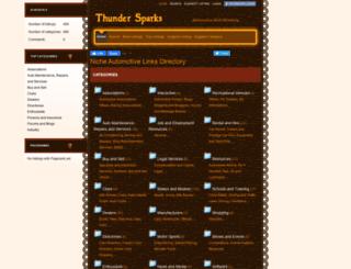 thundersparks.net screenshot