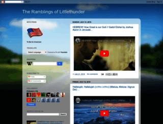 thundersstorms.blogspot.com screenshot