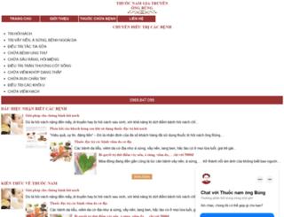 thuocnamongbung.com screenshot