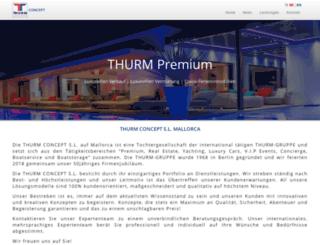 thurm-concept.net screenshot