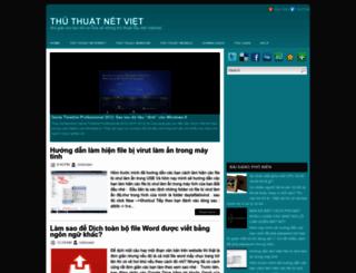 thuthuatnetviet.blogspot.com screenshot