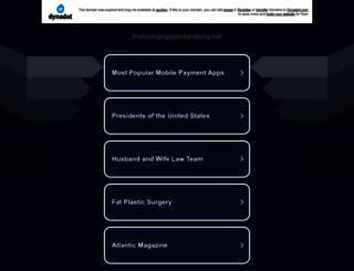thutuongnguyentandung.net screenshot