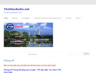 thuvienaudio.net screenshot