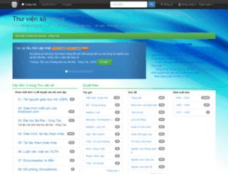 thuvienso.bvu.edu.vn screenshot